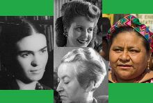 Every March, Women's History Month is celebrated around the world. Its goal is to recognize the generations of women who have shaped and changed our world and smashed records and perceptions.    This week, we list five Latin American women who we are most inspired by, from the fields of art, liter