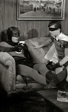 Holy Coffee break Batman!