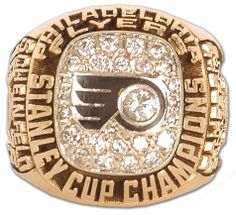 Philadelphia Flyers - 1975 Stanley Cup Ring