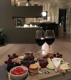 Wine night Tag your wine buddy all rights goes to photographer Romantic Date Night Ideas, Romantic Surprise, Good Food, Yummy Food, Think Food, Dinner For Two, Wine Cheese, Cheese Platters, Romantic Dinners