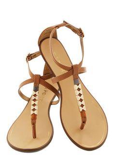 Golden Morning Sandal   Mod Retro Vintage Sandals   ModCloth.com