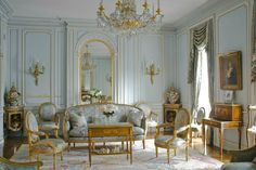These French antiques are in an old Chateau where the architecture is incredibly beautiful.