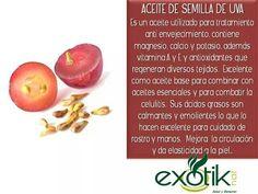Aceite de Semilla de Uva.  Grapeseed Oil.