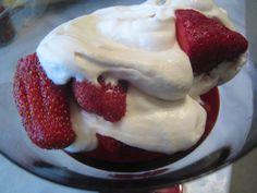 Strawberries Romanoff Taste Just Like La Madeleine -Copycat Recipe - Food.com