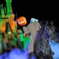 The Headless Horseman rides again   Oh My Disney