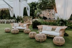 MW TIP: Consider including somewhere for your guests to relax between your cerem. MW TIP: Consider including somewhere for your guests to relax between your ceremony and reception. Cocktail Wedding Reception, Wedding Lounge, Bali Wedding, Magical Wedding, Dream Wedding, Hamptons Wedding, Wedding Ideas, Lounge Seating, Lounge Areas