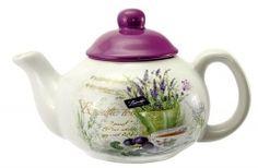 Kanvica keramická Lavender Tea Pots, Lavender, Tableware, Catalog, Dinnerware, Tablewares, Tea Pot, Dishes, Place Settings