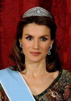 Princess Letizia - Spanish Royals Host Gala Dinner Honoring Argentina President