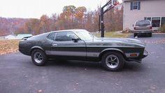 1973 Mustang Mach 1 - My First Car