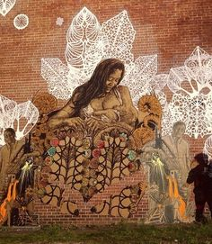 by Swoon in New Haven, Connecticut (LP)