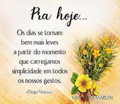 Feliz sábado à todos...!!! ☀️ #bomdia #sabado #especial #paz #amor #amizade #carinho #lindo #fé #d - vidaparainspirar