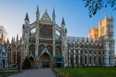 London Heritage     Entrance to Westminster Abbey, one of the most iconic churches in London.