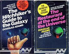 The Hitchhiker's Guide to the Galaxy is a science fiction comedy series created by Douglas Adams.