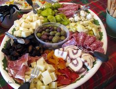 Jenni's Ferris Wheel Of Food: Antipasto Platter