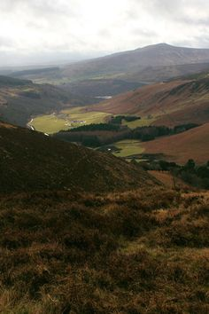 Irland: Wicklow Mountains im Februar