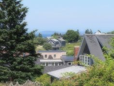 When I am in Maine, I live on an island. Without a boat. I don't even know how to 'boat', which is one of those words that I absolutely love because it can be a noun and a verb… Monhegan Island, Islands, Maine, Boat, Mansions, House Styles, Dinghy, Manor Houses, Villas