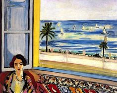 Woman Seated, Back Turned to an Open Window / Henri Matisse - 1921-1923