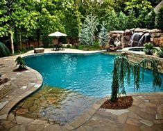 Brilliant 44+ Incredible Pool Design Ideas For Your Home Backyard https://freshouz.com/44-incredible-pool-design-ideas-home-backyard/