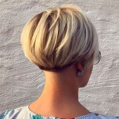 Short Wedge Hairstyles For Older