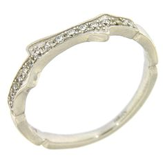 AMEN ring silver 925 and white zircons