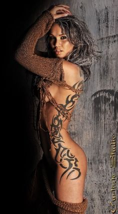 sexy-side-tribal-tattoos-for-women