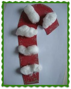 CHRISTMAS MUSIC & CRAFTS: Christmas Song and Make an Easy  Candy Cane Craft for Kids!