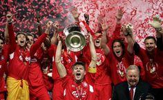 #LFC #YNWA #Gerrard #5times #ChampionsLeague