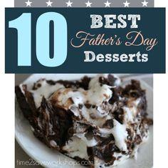 Best Father's Day Dessert Ideas
