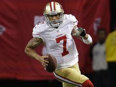 """""""Colin Kaepernick proves no moment too big for him""""  NFL.com (January 20, 2013)"""