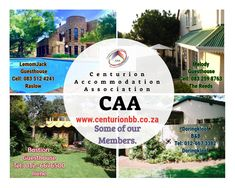 Some of our members in Centurion. B & B, Bed And Breakfast, South Africa
