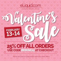Valentine's Day Sale going on now!