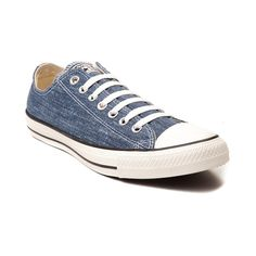 Shop for Converse All Star Lo Washed Sneaker in Navy Egret at Journeys Shoes.