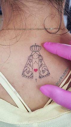 Delicate Women Tattoo Our Lady Ideen für 2019 - tatoo feminina Delicate Tattoos For Women, Tattoos For Women Small, Small Tattoos, Tattoos For Guys, Tattoo Life, Arm Tattoo, Tattoo Moon, Tattoo Art, Mini Tattoos