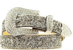 Ariat Womens Western Crystal Chip Leather Belt Women's Belts - http://amzn.to/2id8d5j