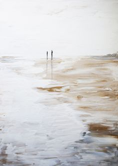 Best Abstract Paintings, Abstract Art, Painting Inspiration, Art Inspo, White Canvas Art, Painting People, Minimalist Art, Beach Art, Art Pictures