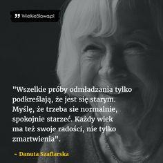 Wszelkie próby odmładzania... #Szaflarska-Danuta,  #Młodość, #Starość