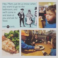 Saturday night dinner with my family... Never a dull moment with the exception of my dinner#outtodinnerwithkids #funnykids #eatclean #eatyourveggies #glutenfree #glutenfreelife #staystrong #momlife #livetrue #stayfocused #bestself by 3greenbeans