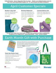 April 2017 Customer Specials, Spend & Get, & Mother's Day Gift Ideas