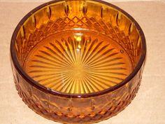 Depression glass amber   DEPRESSION AMBER GLASS   Blueshound   Pinterest