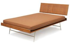 George Nelson Thin Edge Bed, by Herman Miller