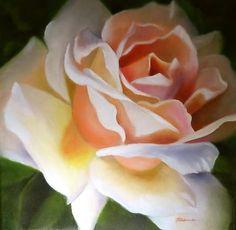 Anniversary Rose, painting by artist Carol Keene