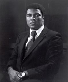 """Mohamed Ali: """"float like a butterfly, sting like a bee."""""""