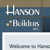 Hanson Builders | Home Builder Websites | Home Builder Web Design | Builder Designs
