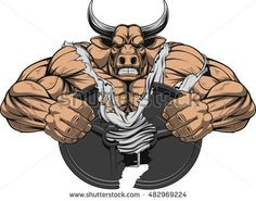 Find Vector Illustration Strong Pitbull Big Biceps stock images in HD and millions of other royalty-free stock photos, illustrations and vectors in the Shutterstock collection. Thousands of new, high-quality pictures added every day. Cool Drawings, Drawing Sketches, Vector Graphics, Vector Free, Bull Tattoos, Big Biceps, Gym Logo, Bullen, Illustration