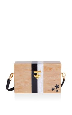 Small Trunk With Stars And Stripes by Edie Parker for Preorder on Moda Operandi