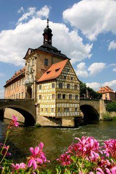 Old Town Hall of Bamberg, Bavaría - Germany