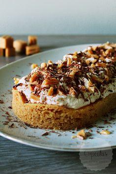 Caramel slof by kayla Dutch Recipes, Sweet Recipes, Baking Recipes, Cake Recipes, Dessert Recipes, Cookie Cake Pie, Pie Cake, Cake Cookies, Mini Cakes