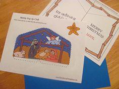 Free Christmas Bible Worksheets at Bible Story Printables