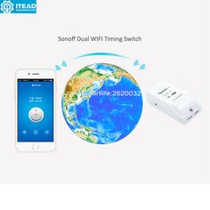 Wifi Switch Wireless Remote Control Ip66 Waterproof Cover Energy Saving And Overall Safe Circuit Protection Case Price Remains Stable Smart Electronics Smart Home