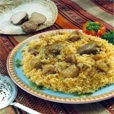 Kabsa  is an Arabic favorite rice dish popular in many Gulf countries such as Kuwait, Saudi Arabia, Bahrain, Qatar, and United Arab Emirates...